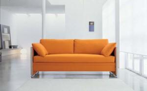 Дизайн за комфортен диван, който става удобно двуетажно легло