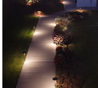 Как да оформим осветлението в градината?