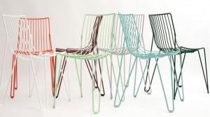 Смел дизайн на столове от Швеция