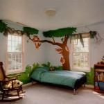 Интересна интериорна идея - градина в детската стая