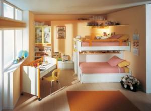 Класическо интериорно решение за детска стая за момиче