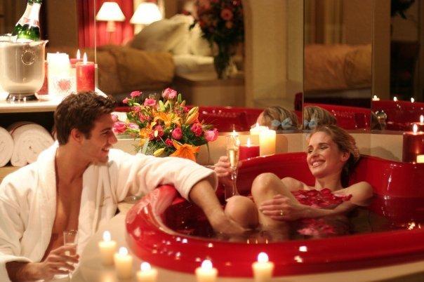 Отпразнувайте Свети Валентин в банята