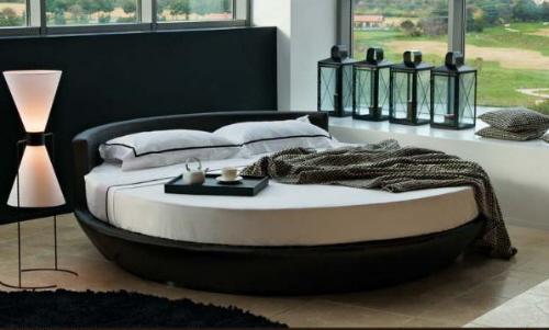 Съвети за избор на кръгла спалня