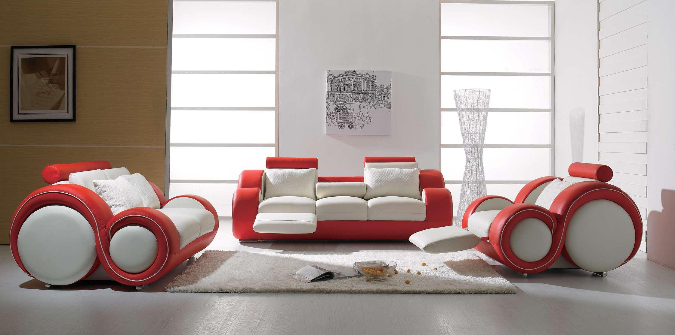 Топ 8 обзавеждане в бяло и червено