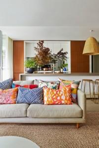 Възглавниците в интериорния дизайн