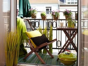 Как да превърнете терасата в място за почивка?
