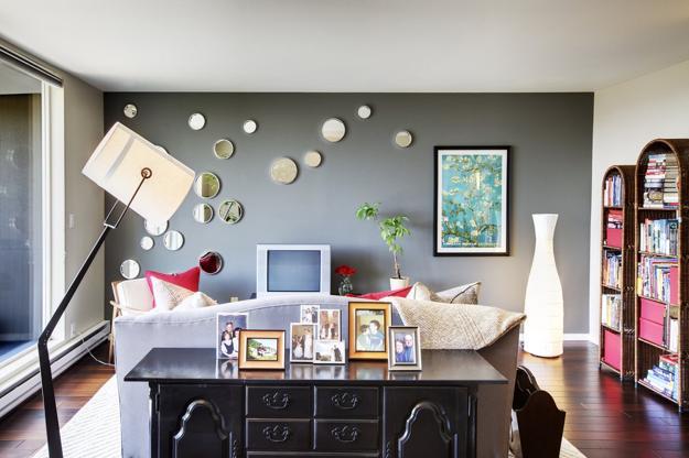 Модерни интериорни идеи с акцент върху стените