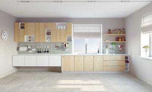 Видове дизайн на модулни кухни 2