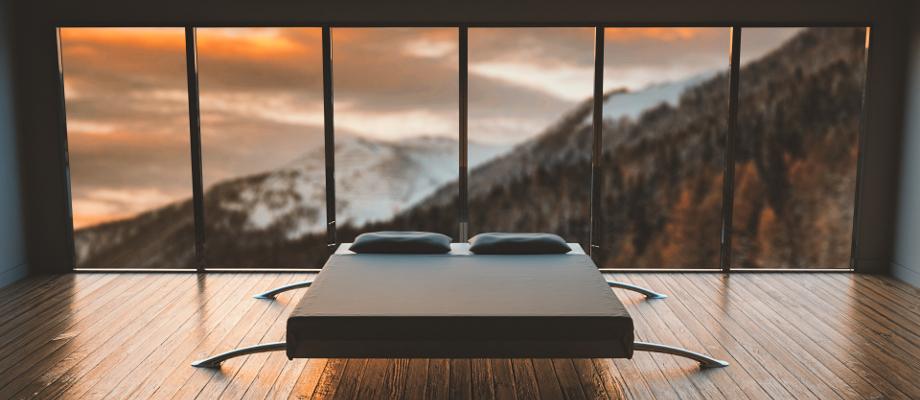Видове легла и спални според мебелния дизайн